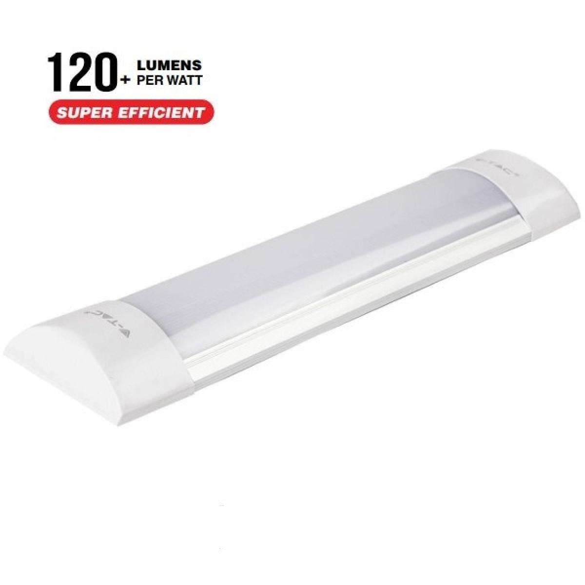 PLAFONIERA LED TUBO LED SMD PRISMATICO PRISMATICO PLAFONIERA 10W LAMPAD