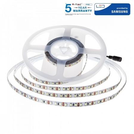 V-Tac PRO VT-5-120 Striscia LED 12W/mt.120 LED/mt. IP20 CHIP SAMSUNG - SKU 323 | 324 | 325