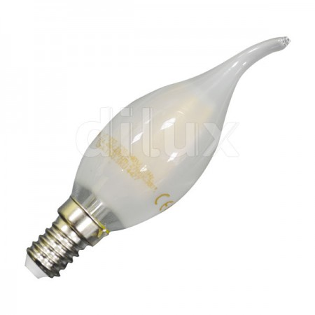 V-Tac VT-1937 Lampadina LED Fiamma Satinata Frosted E14 4W - SKU 4477 | 4478 | 4479