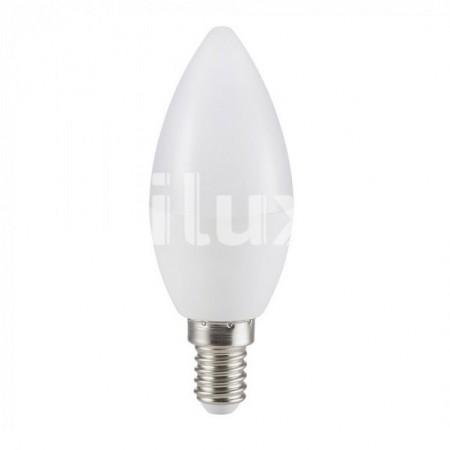 V-Tac VT-2097 Lampadina LED Candela E14 7W - SKU 7318   7319   7320