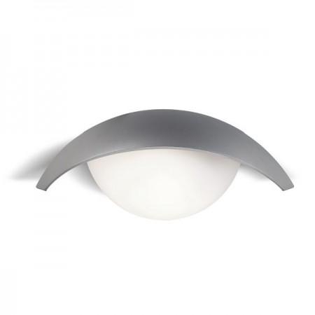 Pan International ESPIRIT Lampada da Parete per Esterni Grigio | Cod. EST226