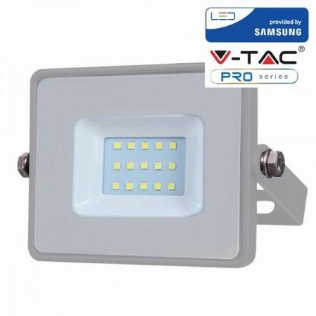 V-Tac VT-10 Faretto LED da Esterno 10W Grigio CHIP SAMSUNG - SKU 430 | 431 | 432