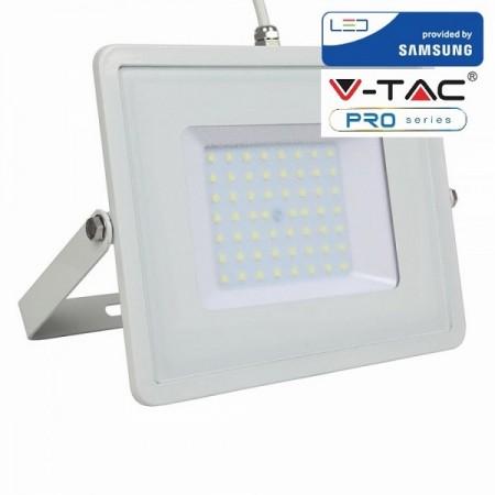 V-Tac VT-50 Faretto LED da Esterno 50W Bianco CHIP SAMSUNG - SKU 409 | 410 | 411