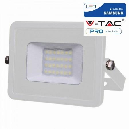 V-Tac VT-20 Faretto LED da Esterno 20W Bianco CHIP SAMSUNG - SKU 442 | 443 | 444