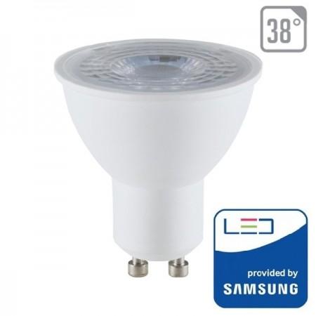 V-Tac PRO VT-291 Lampadina LED GU10 Faretto Spotlight 8W CHIP SAMSUNG - SKU 875   876   877