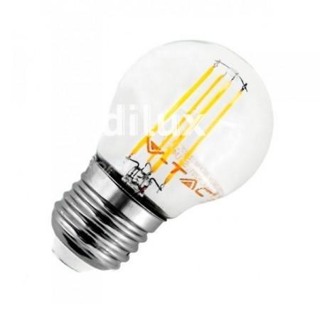 V-Tac VT-1980 Lampadina LED E27 Filamento Mini-Bulbo 4W - SKU 4306 | 4427 | 4428