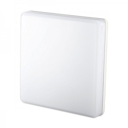 V-Tac VT-8066SQ Plafoniera LED Quadrata IP44 25W CHIP SAMSUNG  - SKU 13959   13969   13979
