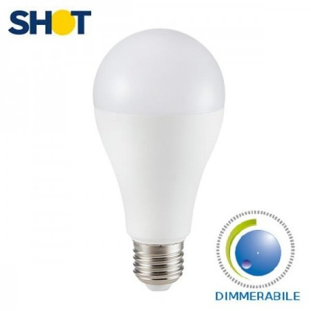 Bot Lighting Shot Lampadina LED E27 Classic Bulbo 13W Dimmerabile - Mod. SLD1014X2D / SLD1014X3D