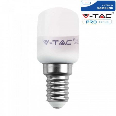 V-Tac PRO VT-202 Lampadina LED E14 Tubolare T26 2W CHIP SAMSUNG - SKU 234 | 235 | 236