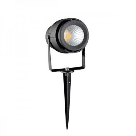 V-Tac VT-857 Faretto LED da Giardino 12W con Picchetto Colore Nero - SKU 7544 | 7545 | 7546