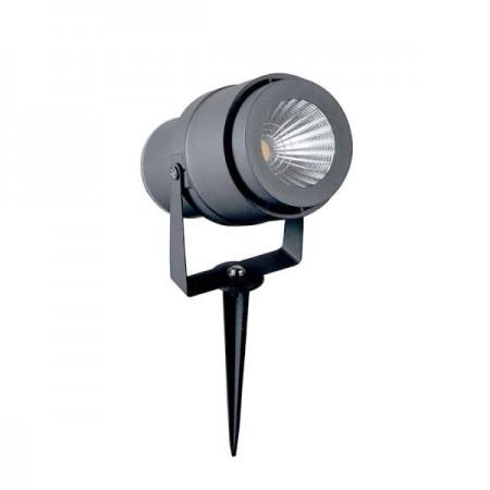 V-Tac VT-857 Faretto LED da Giardino 12W con Picchetto Colore Grigio - SKU 7550 | 7551 | 7552
