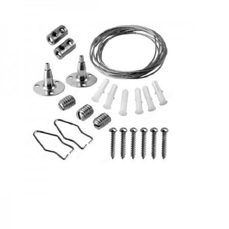 V-Tac Kit di Montaggio a Sospensione per Plafoniere Lineari LED - SKU 8119