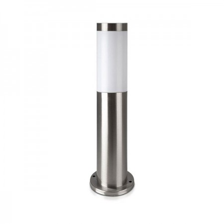 V-Tac VT-838 Lampada da Giardino con Fissaggio a Terra Inox H45 - SKU 8958