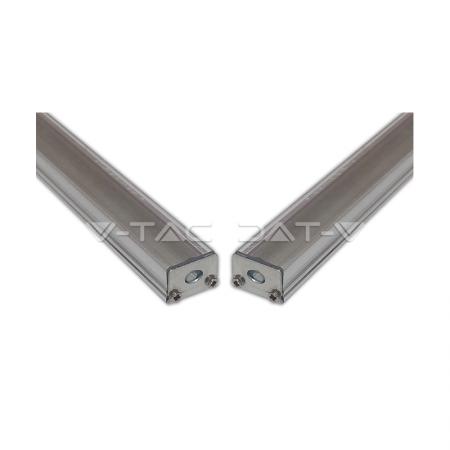 V-Tac Profilo in Alluminio per Strisce LED 1MT. - SKU 9981 | 9982