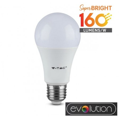 V-Tac Evolution VT-2307 Lampadina LED E27 Classic Bulbo 6.5W High Lumen - SKU 2806 | 2807 | 2808