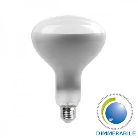 V-Tac VT-2198D Lampadina LED E27 Spot Reflector R125 8W Filamento Dimmerabile - SKU 7466   7467   7468