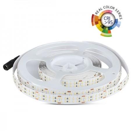 V-Tac VT-2216 Striscia LED CRI >95 30W/mt. 360 LED/mt. 24V IP20 - SKU 2580 | 2581 | 2582