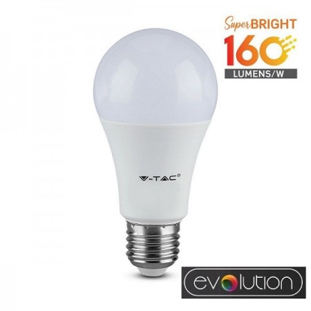 V-Tac Evolution VT-2310 Lampadina LED E27 Classic Bulbo 9.5W High Lumen - SKU 2809 | 2810 | 2811