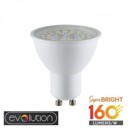V-Tac Evolution VT-2335 Lampadina LED GU10 Faretto Spotlight 5W High Lumen - SKU 2837 | 2838 | 2839