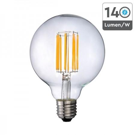 V-Tac VT-2338 Lampadina LED E27 Filamento Globo G95 18W - SKU 2803