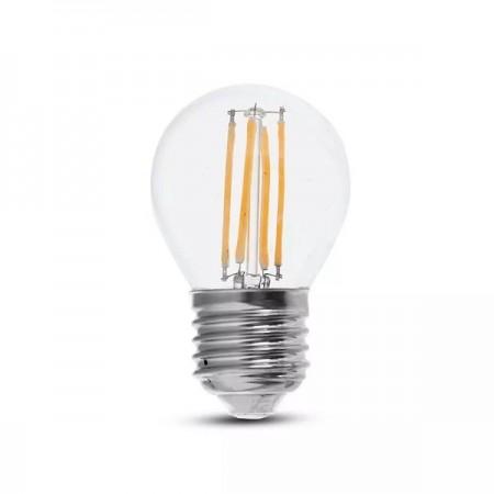 V-Tac VT-2366 Lampadina LED E27 Filamento Mini-Bulbo 6W - SKU 2842 | 2843 | 2844