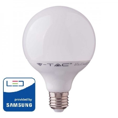 V-Tac PRO VT-218 Lampadina LED E27 Globo G120 17W CHIP SAMSUNG - SKU 225 | 226 | 227