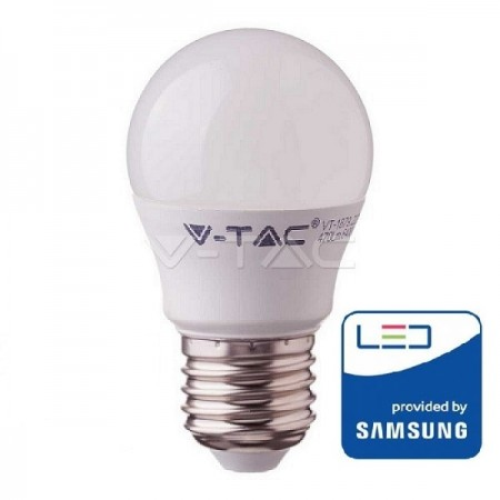 V-Tac PRO VT-246 Lampadina LED E27 Mini-Bulbo 5.5W CHIP SAMSUNG - SKU 174 | 175 | 176
