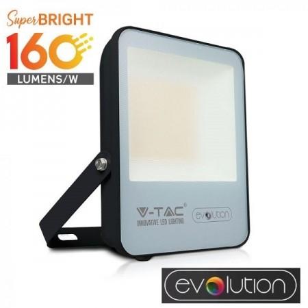V-Tac Evolution VT-4961 Faro LED da Esterno 50W Nero High Lumen - SKU 5918 | 5919