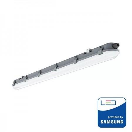 V-Tac PRO VT-60018 Tubo LED Plafoniera Impermeabile IP65 18W 60cm - SKU 20211 | 20210