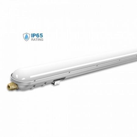 V-Tac VT-1548 Tubo LED Plafoniera Impermeabile 48W 150cm - SKU 6184 | 6185