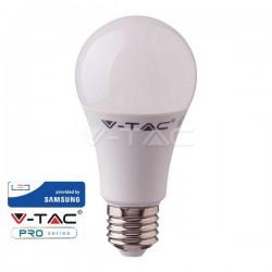 V-Tac PRO VT-210 Lampadina LED E27 Classic Bulbo 9W CHIP SAMSUNG - SKU 228 | 229 | 230