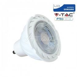 V-Tac PRO VT-277 Lampadina LED Faretto Spotlight GU10 7W CHIP SAMSUNG