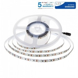 V-Tac PRO VT-5-120 Striscia LED 12W/mt.120 LED/mt. IP20 CHIP SAMSUNG - SKU 323 | 324 | 325