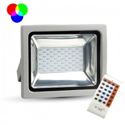 V-Tac VT-4732 Faro LED Multi-Color RGB 30W con Telecomando Radiofrequenza - SKU 5755