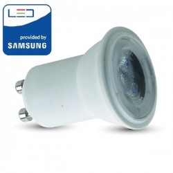 V-Tac PRO VT-232 Lampadina LED GU10 Faretto Spotlight Ø35mm 2W CHIP SAMSUNG - SKU 869 | 870 | 871