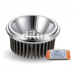 V-Tac VT-2110 Lampadina LED Faretto da Incasso AR111 20W 40° - SKU 1246 | 1247 | 1248