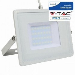 V-Tac PRO VT-30 Faro LED da Esterno 30W Bianco CHIP SAMSUNG - SKU 403 | 404 | 405