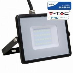 V-Tac VT-30 Faretto LED da Esterno 30W Nero CHIP SAMSUNG - SKU 400 | 401 | 402