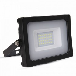 V-Tac VT-4922 Faro LED Ultra Slim 20W Nero - SKU 5795 | 5796 | 5797