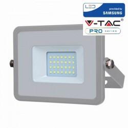 V-Tac VT-10 Faretto LED da Esterno 20W Grigio CHIP SAMSUNG - SKU 445 | 446 | 447
