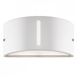 Pan EFFECT UPLIGHT / DOWNLIGHT  Applique da Esterno Bianco | Cod. EST093