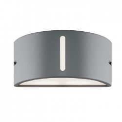 Pan EFFECT UPLIGHT / DOWNLIGHT  Applique da Esterno Grigio | Cod. EST092