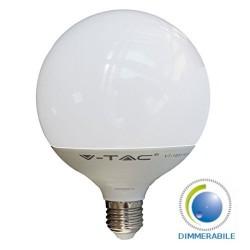 V-Tac VT-1884D Lampadina LED E27 Globo G120 13W Dimmerabile - SKU 4254 | 7194 | 7195