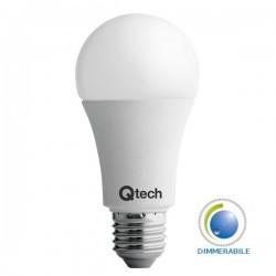 Qtech Lampadina LED E27 Classic Bulbo 12W Dimmerabile