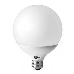 Qtech Lampadina LED E27 Globo G120 24W