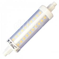 V-Tac VT-1990 Lampadina LED Lineare R7s 118mm 10W - SKU 4369 | 4389 | 4390