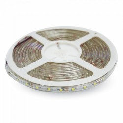 V-Tac Striscia LED 3528 Impermeabile IP65 7.2 W/mt. 120 LED/mt. IP20 5 METRI - SKU 2038 | 2037 | 2044