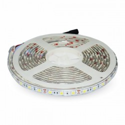V-Tac Striscia LED 5050 10.8W/mt. 60 LED/mt. Impermeabile IP65 5 METRI - SKU 2149 | 2150 | 21248