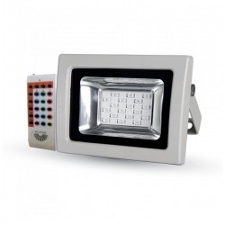 V-Tac VT-4711 Faro LED Multi-Color RGB 10W con Telecomando Radiofrequenza - SKU 5894
