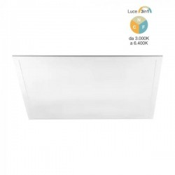 V-Tac VT-6240 Pannello LED 60x60 40W Colore Luce 3in1 - SKU 6605